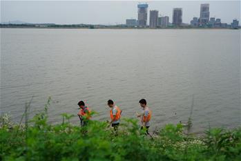 江西南昌:防汛進行時