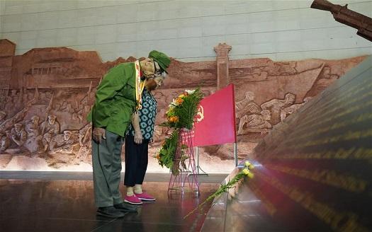 江西南昌:緬懷抗戰先烈