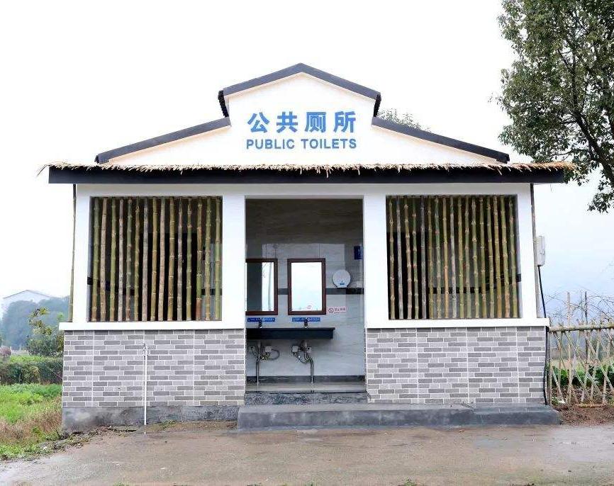 江西集中居住千人以上村莊衛生公廁全覆蓋