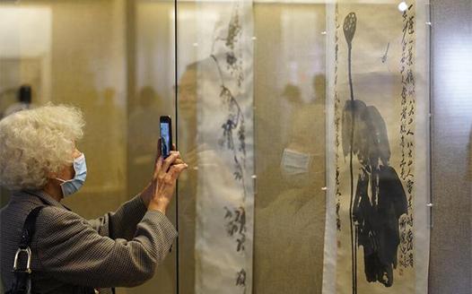 齊白石藝術展在南昌開幕