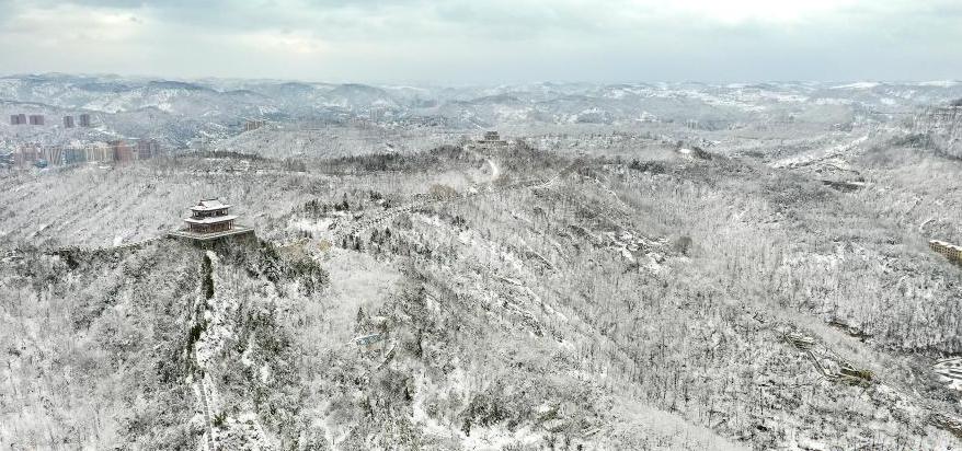 雪後延安美如畫